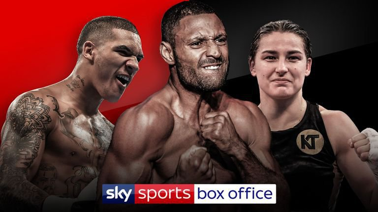 Whyte vs Parker Undercard Announcement: Kell Brook, Katie Taylor and Conor Benn