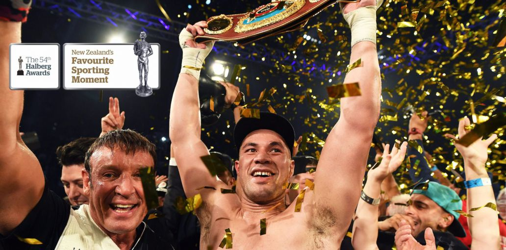 Joseph Parker a finalist for Halberg New Zealand Sportsman of the Year