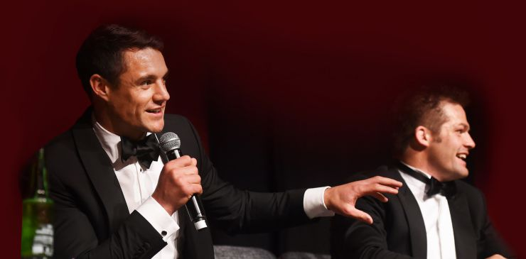 Richie McCaw and Dan Carter Dinner