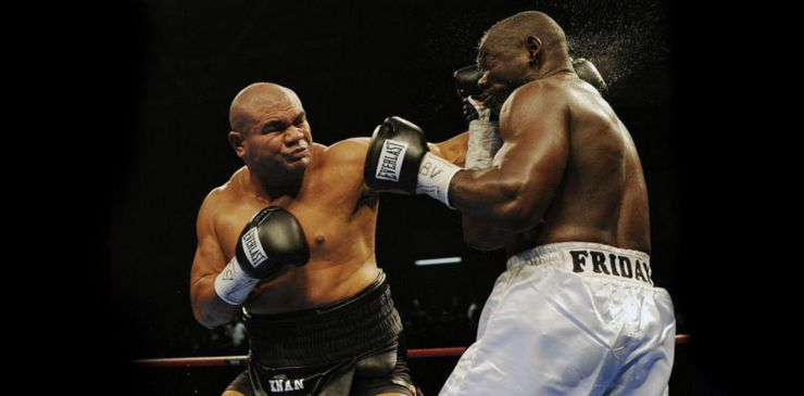 David Tua vs Friday Ahunanya