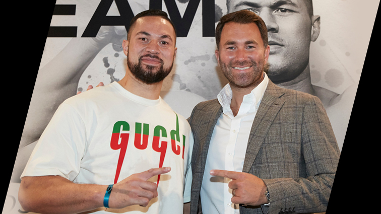 Joseph Parker signs promotional deal with Matchroom Boxing