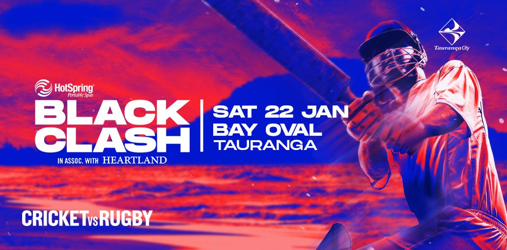 Hot Spring Spas T20 Tauranga Black Clash in association with Heartland