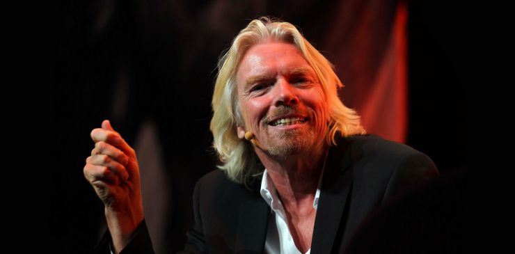 Sir Richard Branson Live in Auckland