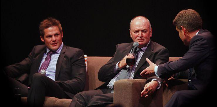 Sir Graham Henry & Richie McCaw