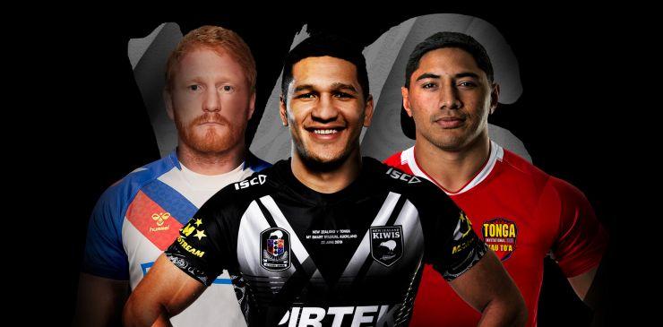 Triple Header: GBR League Lions v NZ / Aus v Tonga / Samoa v Fij