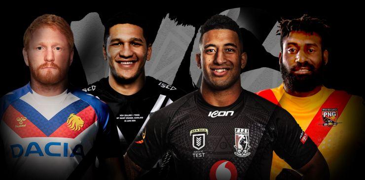 Double Header: GBR League Lions v NZ / PNG v Fiji