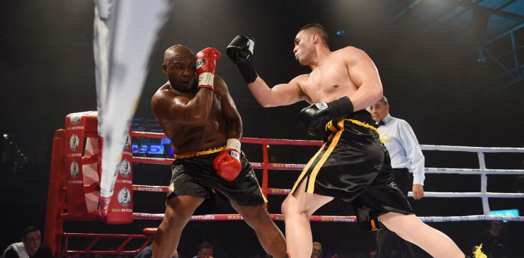 Joseph Parker vs Sherman Williams
